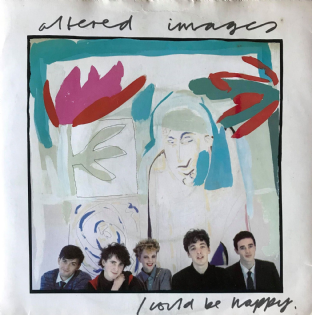 "Altered Images - I Could Be Happy (7"") (VG-/G-VG)"